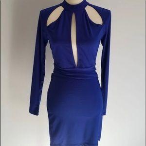 NWT Symphony Cut Out Mini Dress